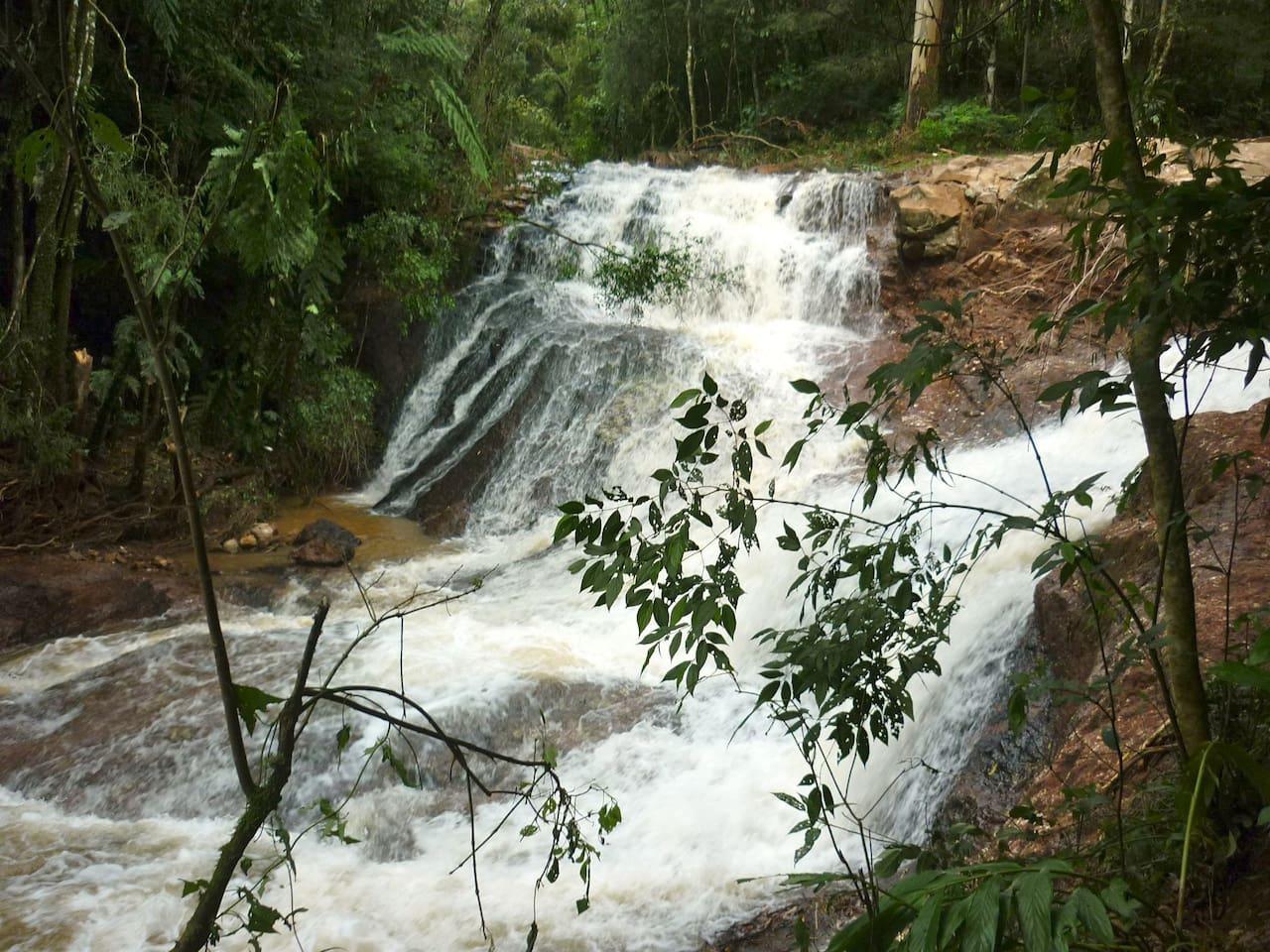 Cachoeira particular a 30 m da casa