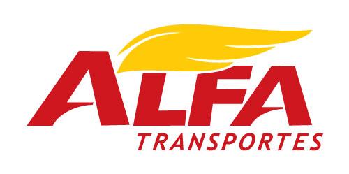 Logo Alfa Transportes Cargas Fracionadas Lotação