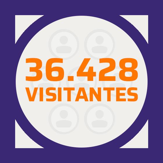 Mais de 30 mil visitas no site