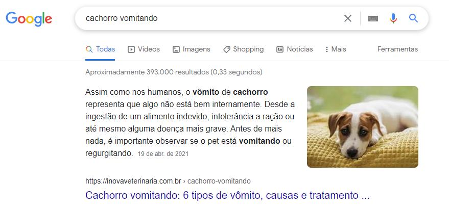 Resultado 0 (zero) no Google para termo com mais de 60.000 buscas/mês - dois meses de geração de conteúdo