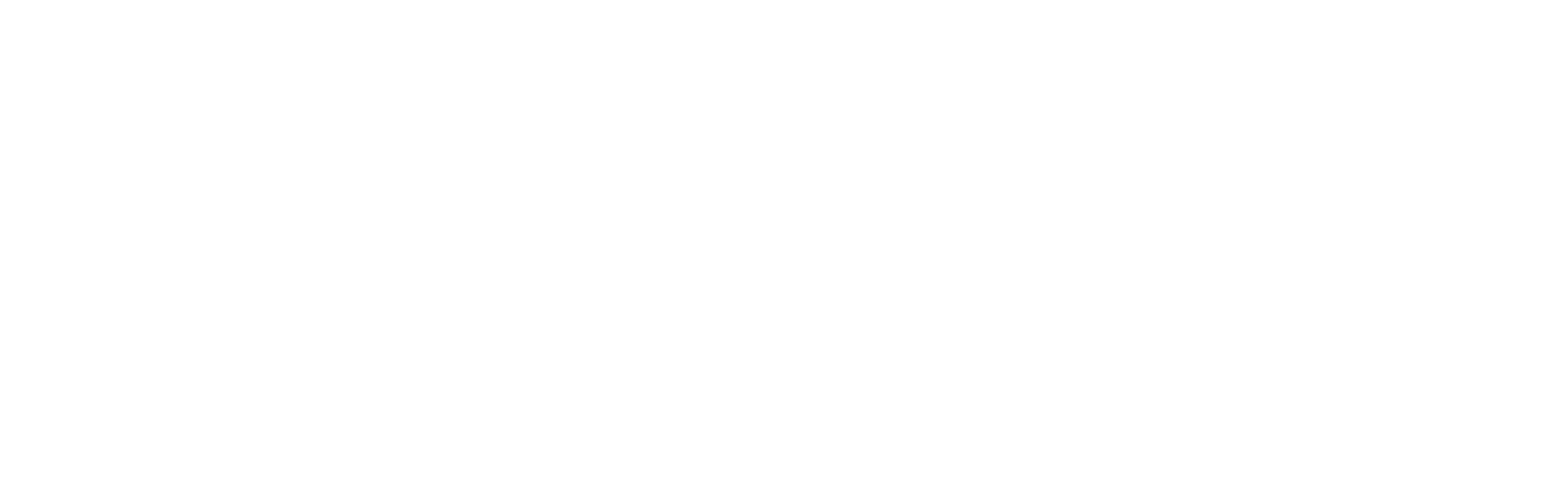 Logo Homy Química horizontal branca alpha