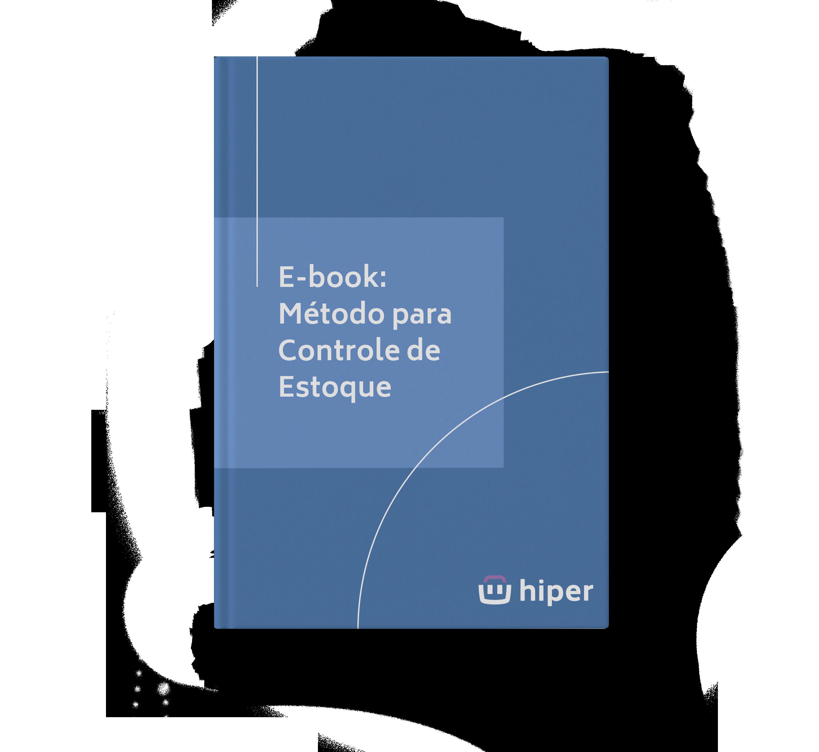 E-book Métodos para Controle de Estoque