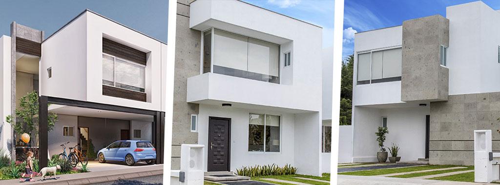 Conoce nuestros 3 modelos de vivienda