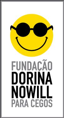 Descrição da imagem: logo da Fundação Dorina