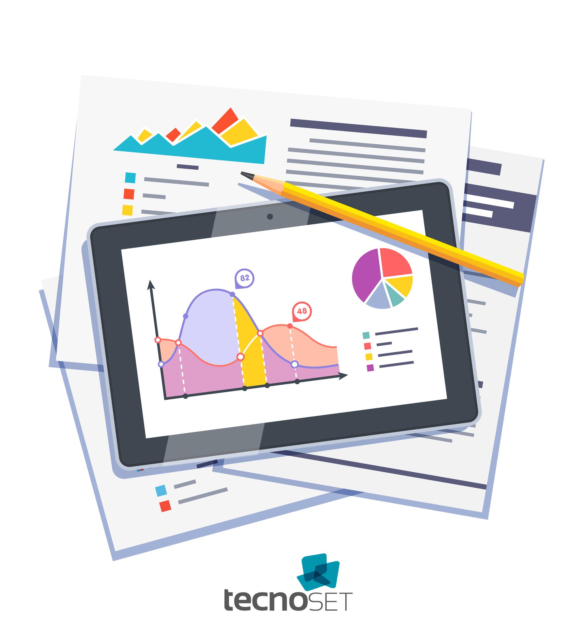 Imagem ilustrando o infográfico sobre as vantagens do documento digital