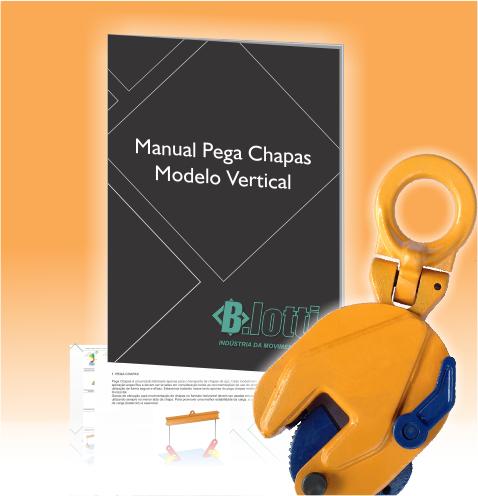 Call to action manual pega chapa vertical