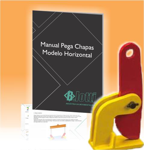 Call to action manual pega chapa horizontal