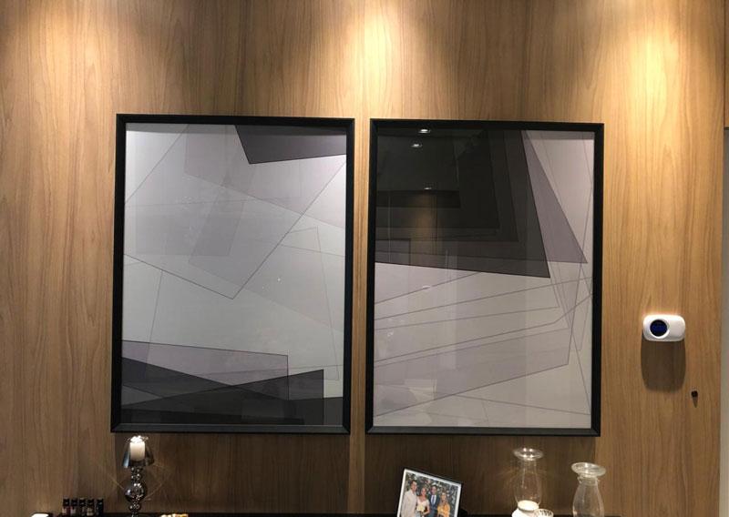 Quadros abstratos personalizados