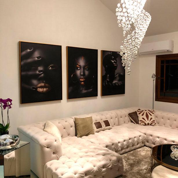 Quadro Tela Canvas Arte Africana