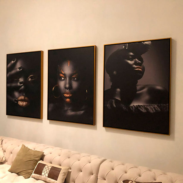 Tela canvas personalizada Arte Africana