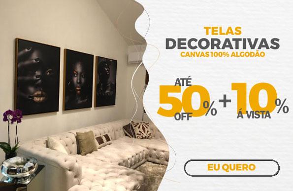 Promoção telas decorativas