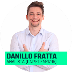Analista Danillo Fratta (CNPI-T EM-1795)