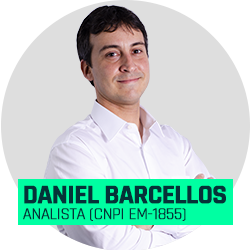 Analista Daniel Barcellos (CNPI EM-1855)