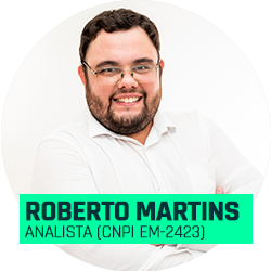 Analista Roberto Martins (CNPI EM-2423)