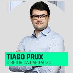 Tiago Prux Diretor da Capitalizo
