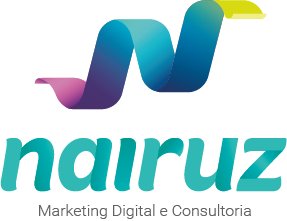Logotipo Nairuz Consultoria Digital Branco - Raio X do Marketing Digital