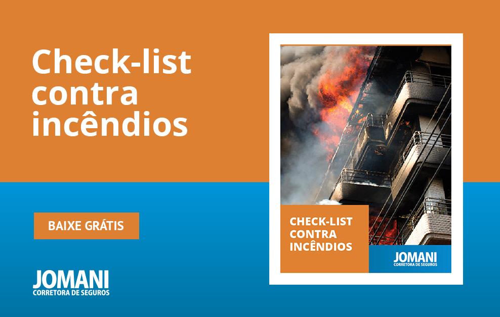 Baixe grátis o check-list contra incêndios