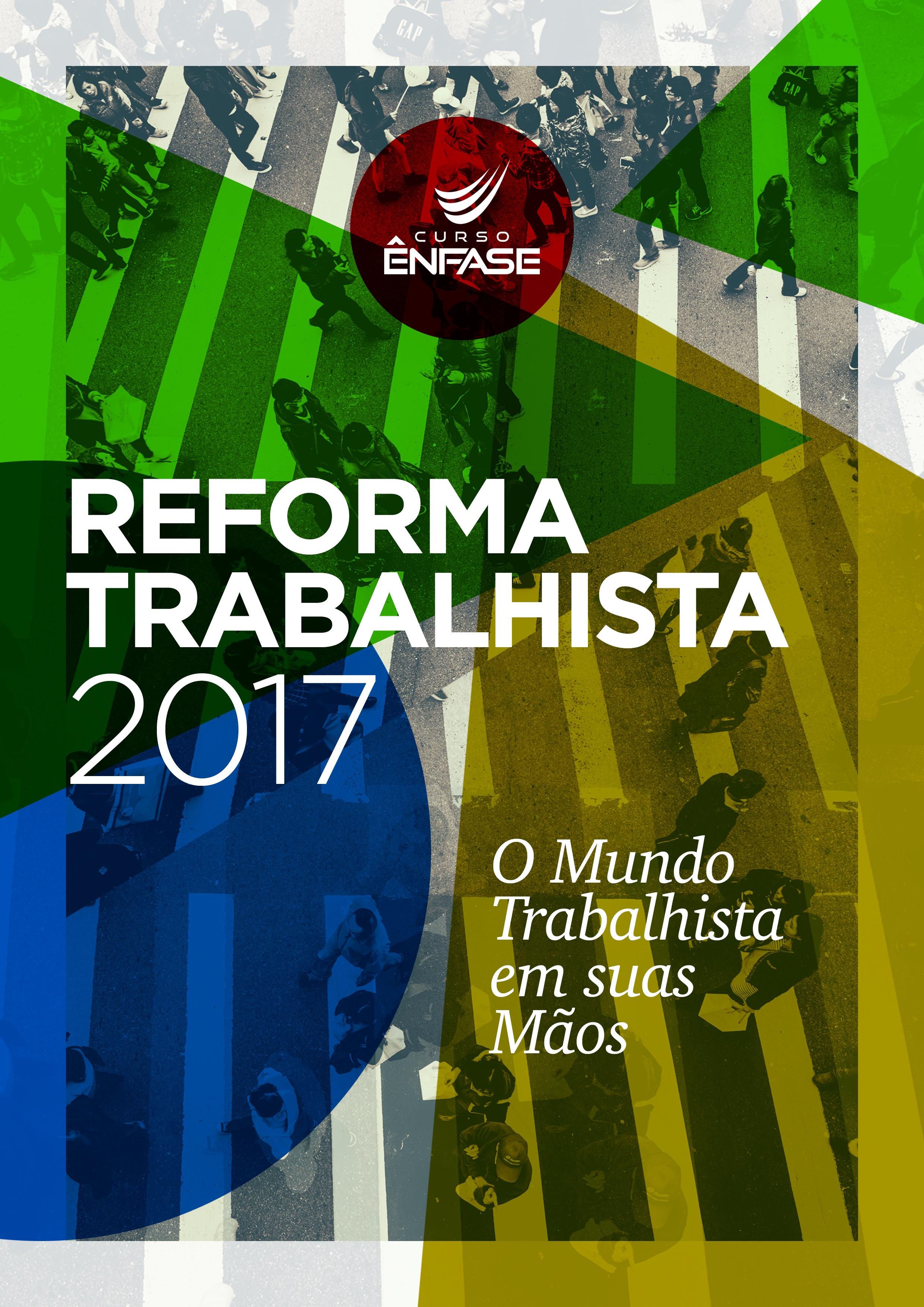 Capa do livro Reforma Trabalhista