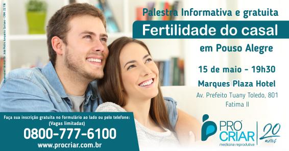 Palestra Fertilidade do Casal