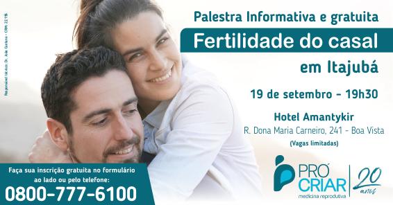 Palestra Fertilidade do Casal - Itajubá