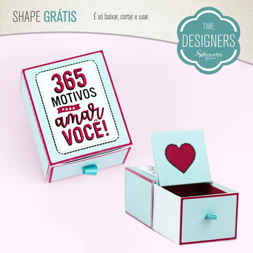 Shape Grátis - Caixa 365 Motivos