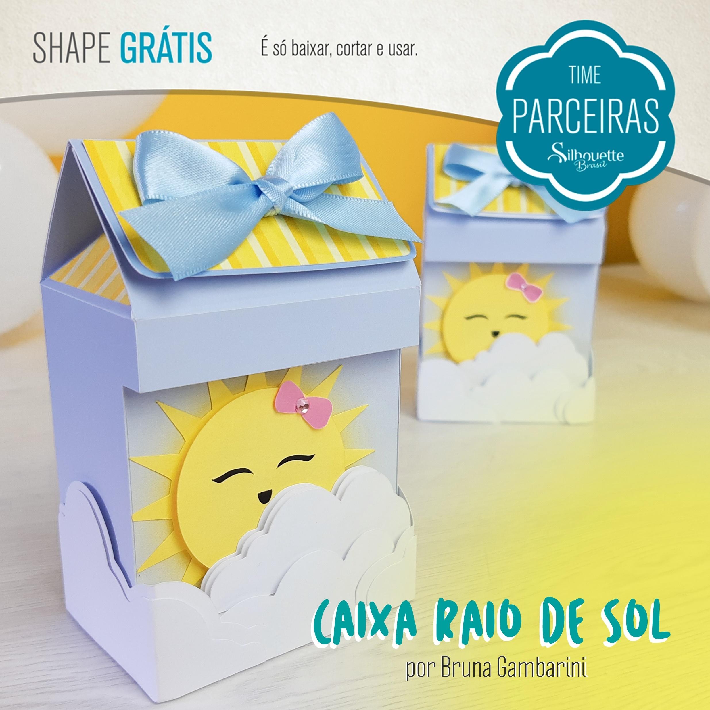 Shapes Grátis - Caixa Raio de Sol