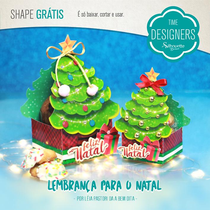 Shapes Grátis Embalagens de Natal