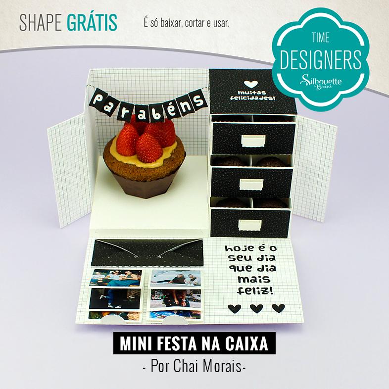 Shape Grátis - Mini Festa na Caixa