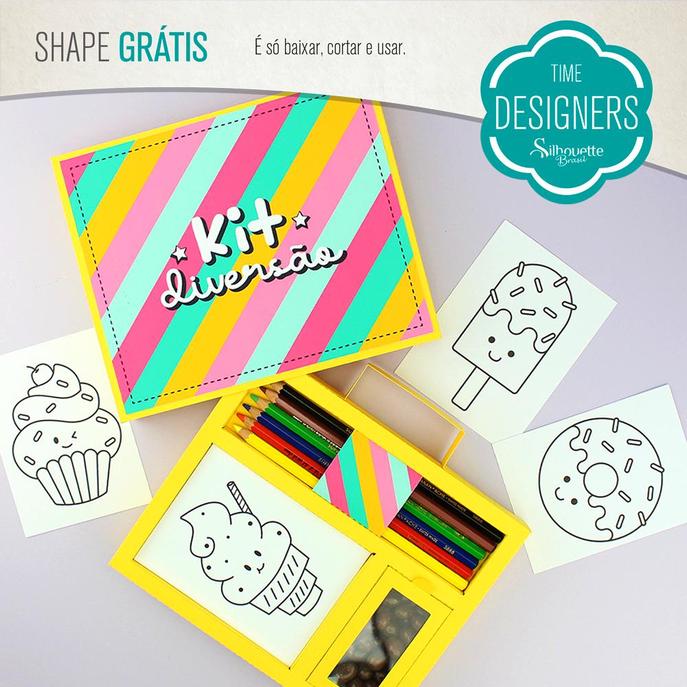 Shape Grátis - Kit Diversão - Dia das Crianças