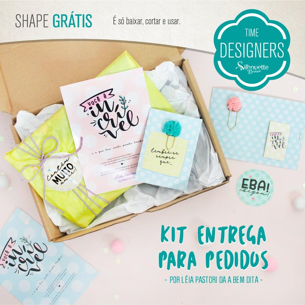 Shape Grátis - Kit Entrega para Pedidos