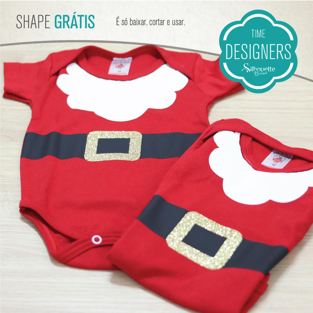 Shape Grátis - Body de Natal