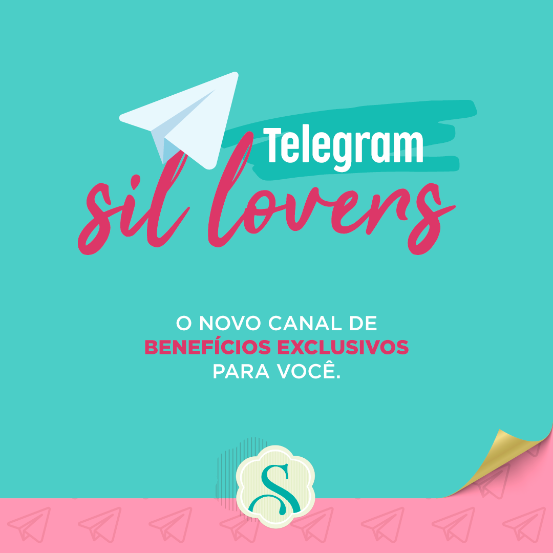 Faça parte do Grupo da Sil no Telegram!