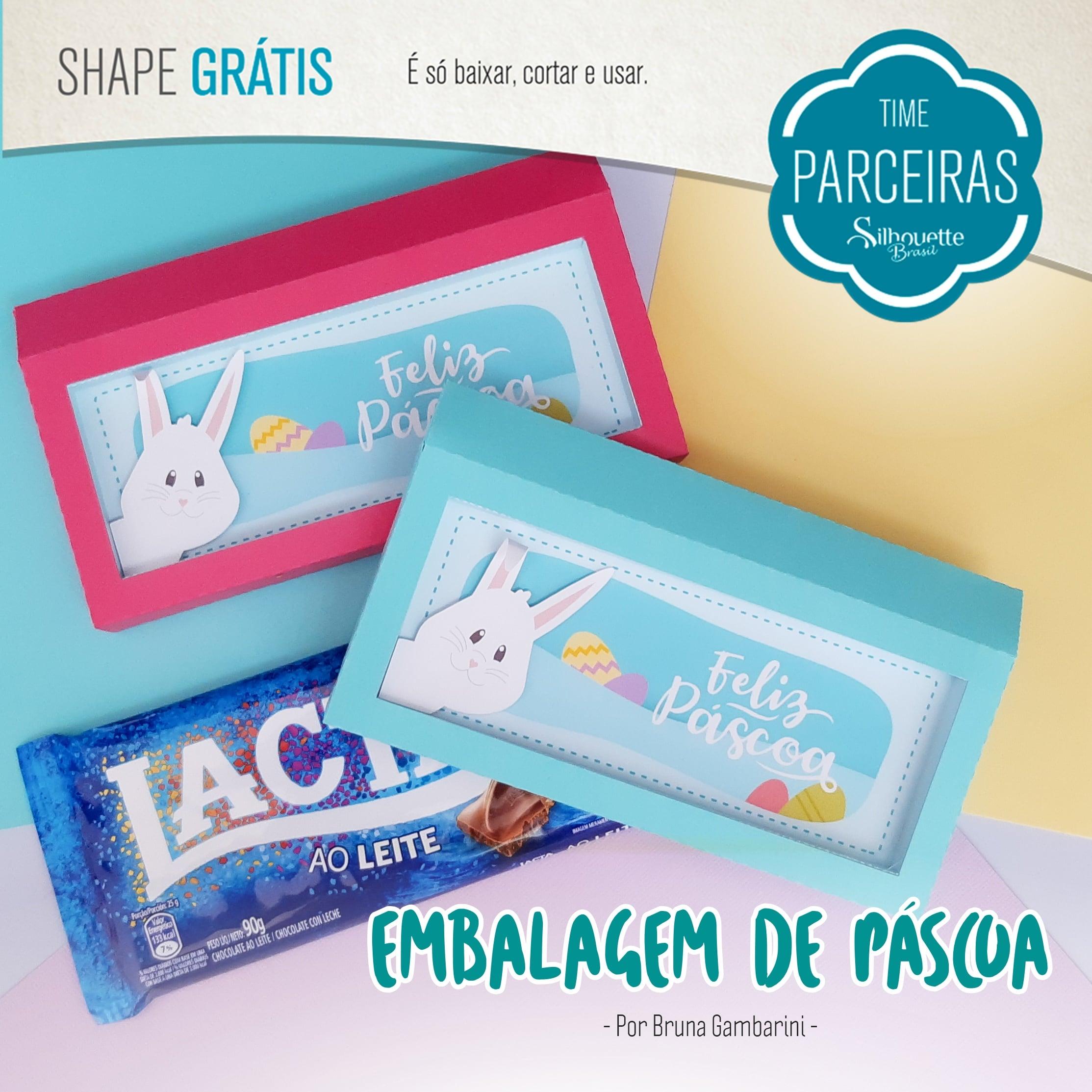 Baixar Arquivo Grátis - Embalagem para Barra de Chocolate de Páscoa