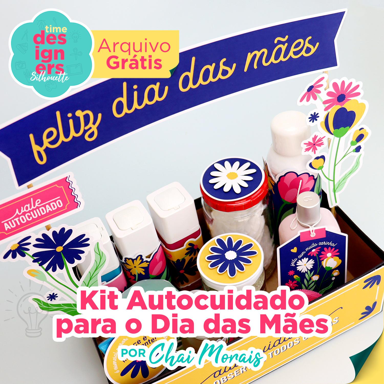 Arquivo Grátis -  Kit Especial Dia das Mães de Autocuidado