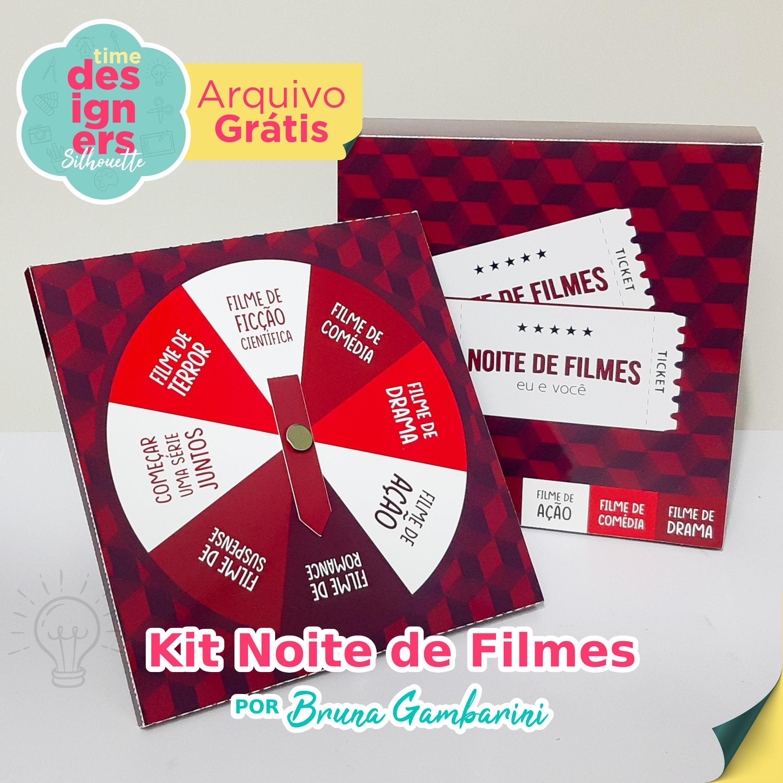 Arquivo Grátis -  Kit Noite de Filmes Dia dos Namorados