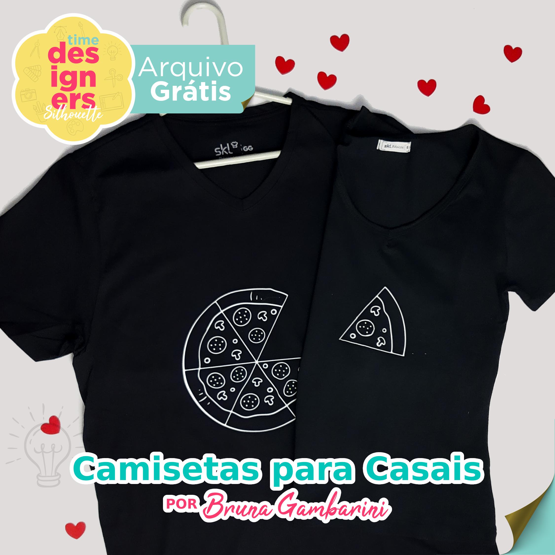 Arquivo Grátis -  Arquivo Grátis  Estampas para  Camisetas de Casal  Dia dos Namorados