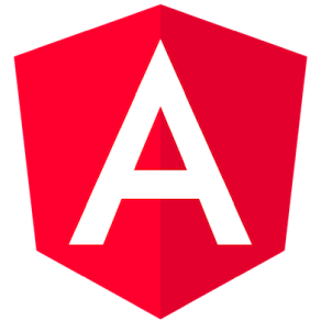 Logotipo do Angular