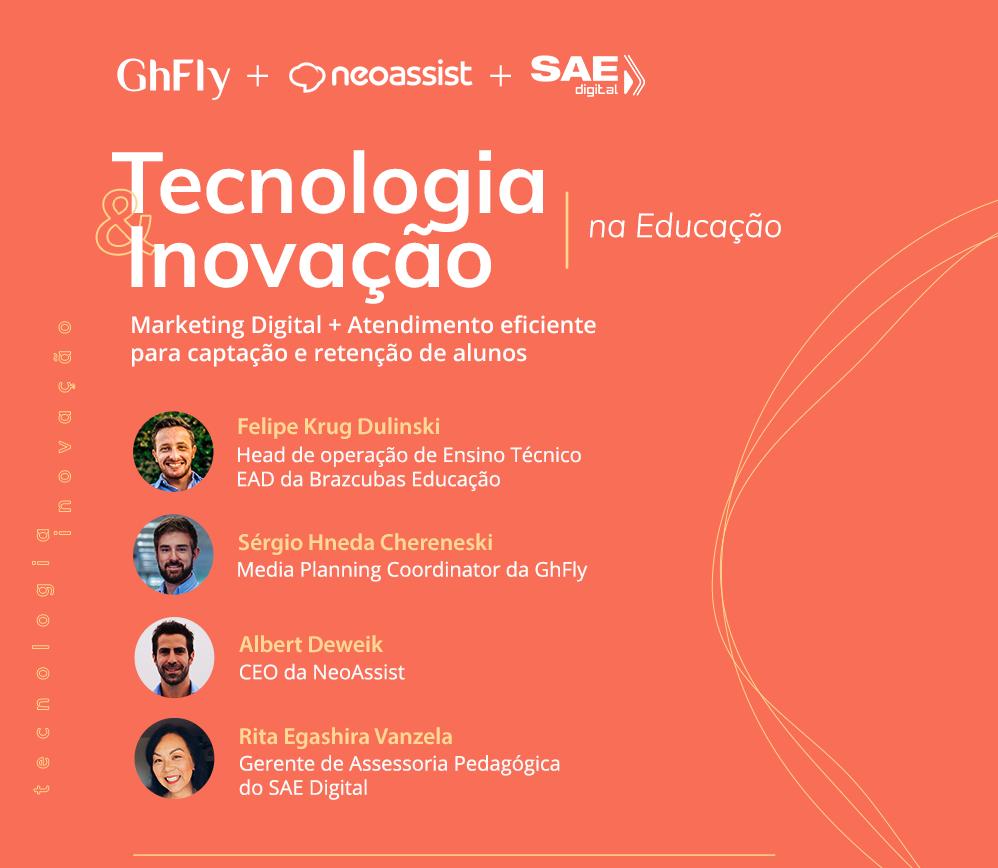 Painel Tecnologia e Inovação na Educação