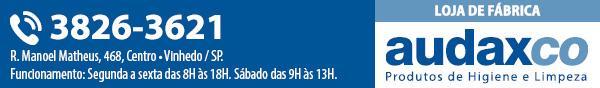 R. Manoel Matheus, 468, Centro • Vinhedo / SP. Funcionamento: Segunda a sexta das 8H às 18H. Sábado das 9H às 13H.