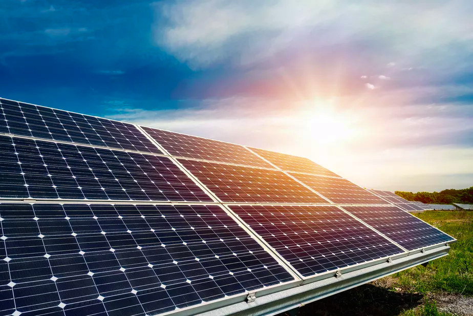 foto painéis solares