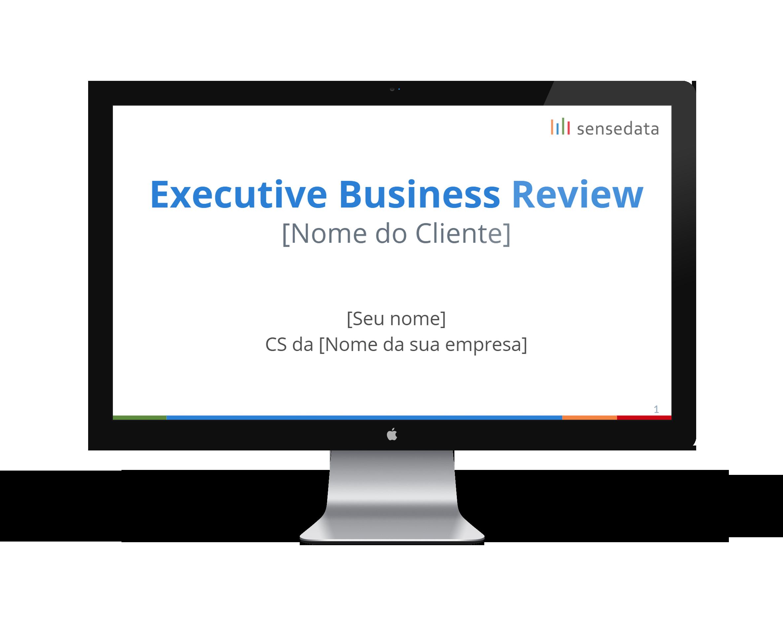 template EBR customer success