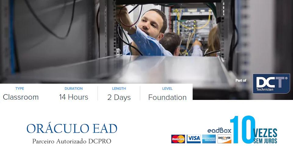 curso data center treinamento data center dcpro PMT Project Management Technician