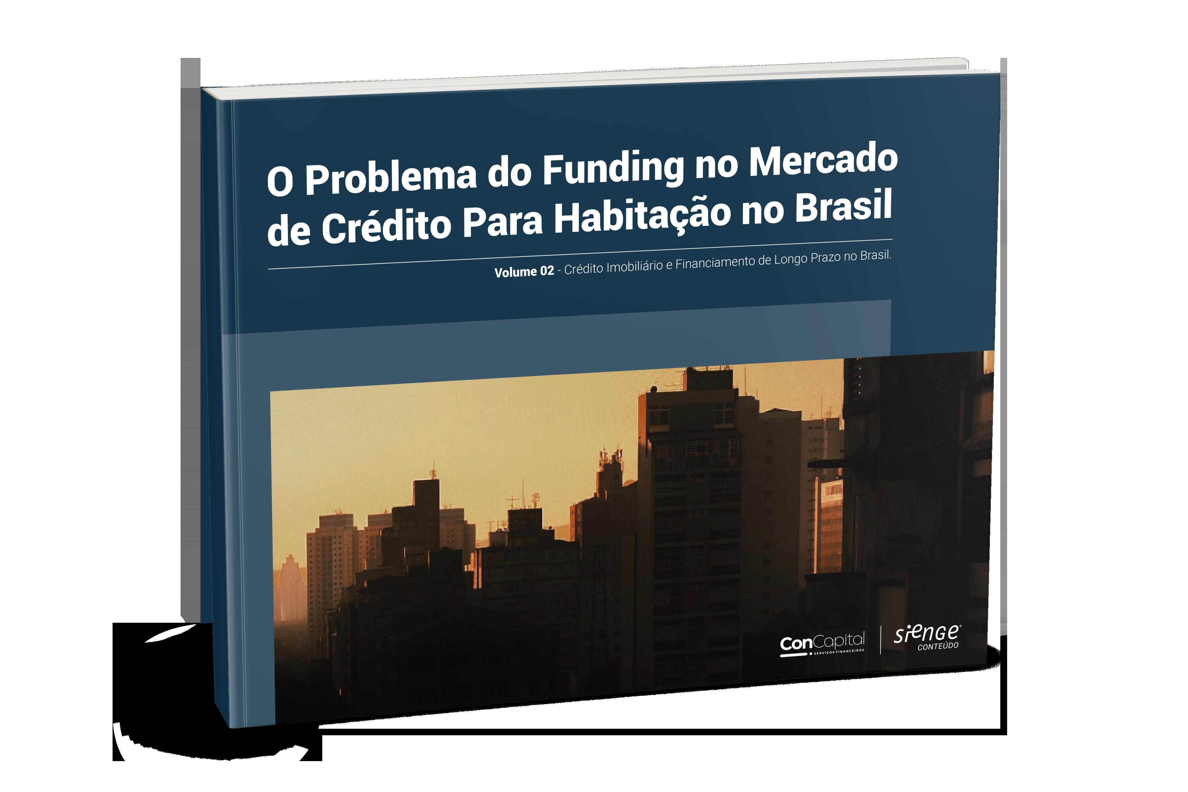 capa ebook problema do funding no mercado de crédito