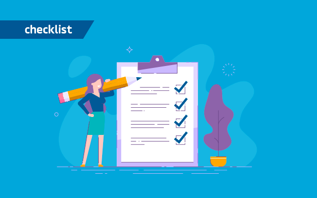 Checklist para projetos cofinanciados