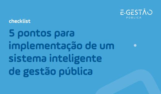 sistema inteligente de gestão pública