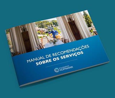 Manual de Recomendações sobre os serviços - Imunizadora Hoffmann