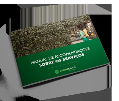 Manual de Recomendações sobre os serviços - Desinservice