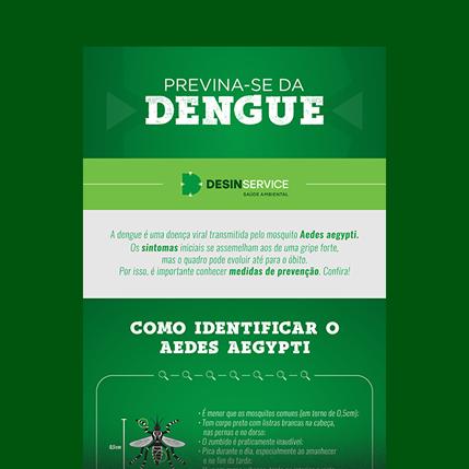 Dengue - Infográfico grátis
