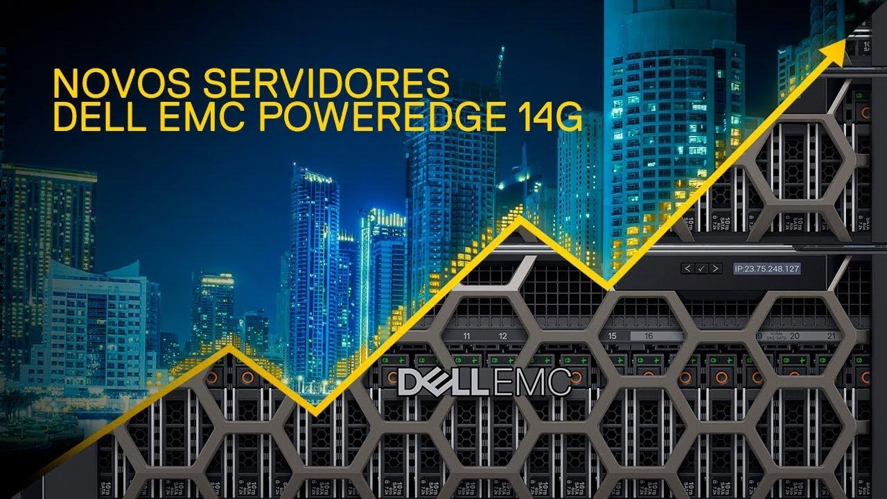 Venda de Servidor Dell EMC PowerEdge 14G Goiânia