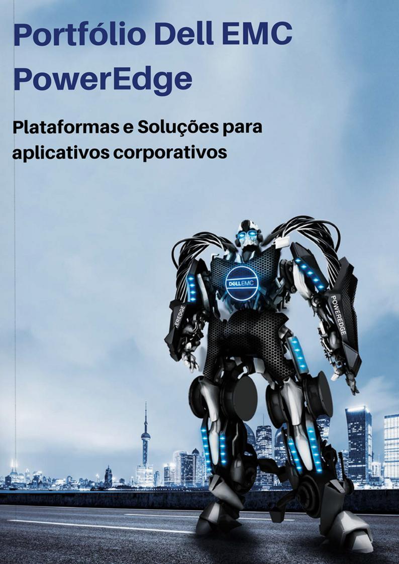 Portfólio Servidores Dell EMC PowerEdge 14G Goiânia